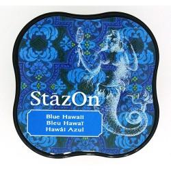 Stazon Midi blazinica za štampiljke 65 Blue hawai