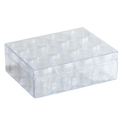 Prozorna akrilna škatla 12 kosov 160x120x51mm