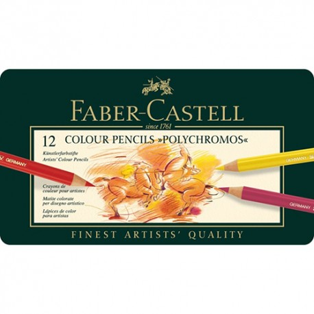 Barvni svinčniki Polychromos Faber Castell set 12