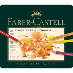 Barvni svinčniki Polychromos Faber Castell set 24