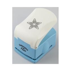 Nellies Embossing luknjač 3D Zvezda Velik