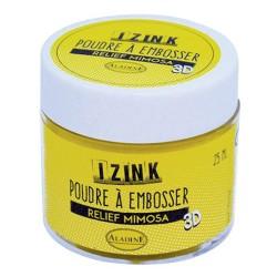 Aladine Embossing prah 25ml Mimosa rumena