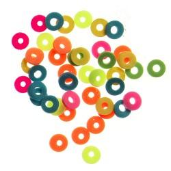 Katsuki perle 6mm cca 100 kosov Neon
