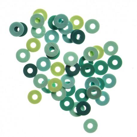 Katsuki perle 6mm cca 100 kosov Turkizna