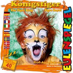 Komplet barv za poslikavo obraza Tiger