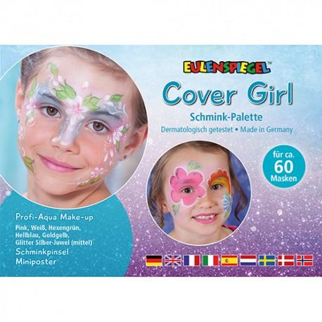 Komplet barv za poslikavo obraza Cover girl