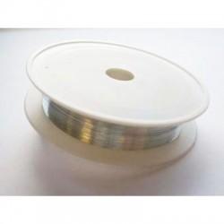 Metalna žica 0,2mm x 30m, Platinaste barve