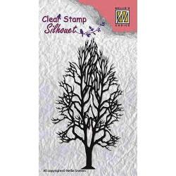 Nellies štampiljka Drevo 5,3 x 9,5cm
