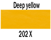 Ecoline tekoči akvarel tuš 30ml 202 Deep yellow (art. 11252021)