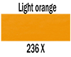 Ecoline tekoči akvarel tuš 30ml 236 Light Orange (art. 11252361)