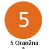 Pigma micron čopič, 05 Oranžna (art. XSDK-BR5)