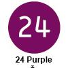 Pigma micron čopič, 24 Purple (art. XSDK-BR24)
