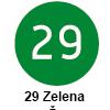 Pigma micron čopič, 29 Zelena (art. XSDK-BR29)