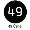 Pigma micron čopič, 49 Črna (art. XSDK-BR49)