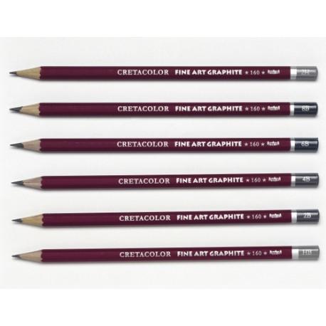 Cretacolor grafitni svinčniki posamezne trdote