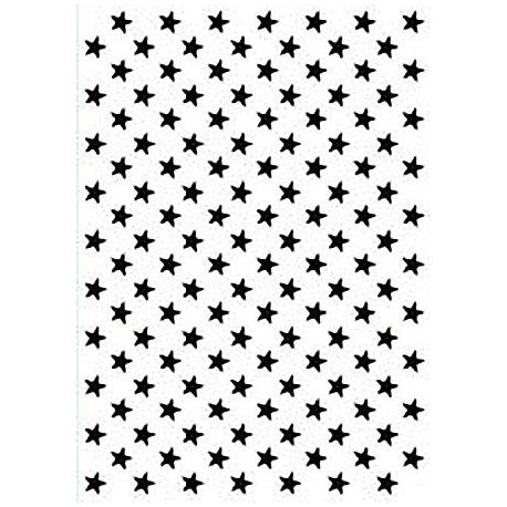 Embossing mapa 106 x 150mm, Zvezde