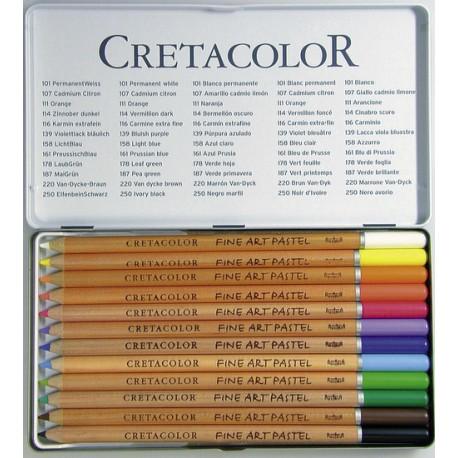 Pastelne barvice Cretacolor set 12