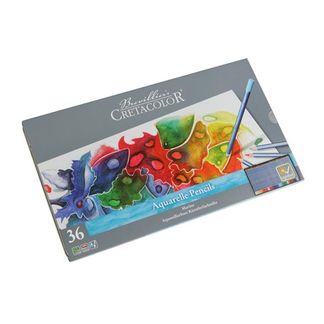 Cretacolor Marino akvarelne barvice set 36