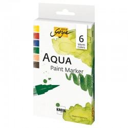 Solo Goya Aqua marker hladne b. set 6