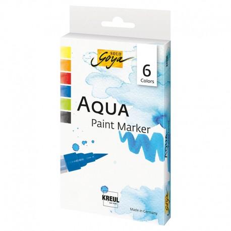 Solo Goya Aqua marker set 6