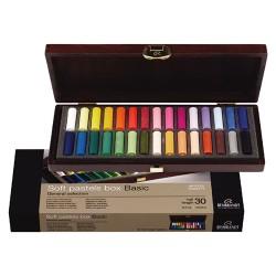 Rembrandt suhi pasteli lesena embalaža set 30/2