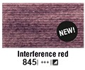 Van Gogh akvarelna b. pan 845 Interference red