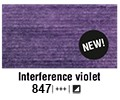Van Gogh akvarelna b. pan 847 Interference violet
