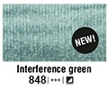 Van Gogh akvarelna b. pan 848 Interference green