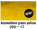 Van Gogh akvarel tuba 296 Azo green yellow10ml