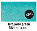 Van Gogh akvarel tuba 661 Turq green 10ml