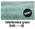 Van Gogh akvarel tuba 848 Interference green 10ml