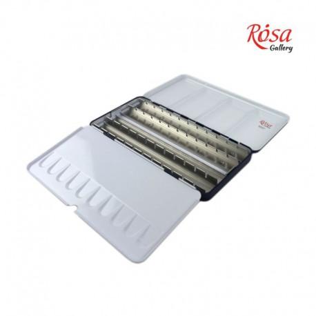 Kovinska embalaža - škatla za Rosa akvarele set 28
