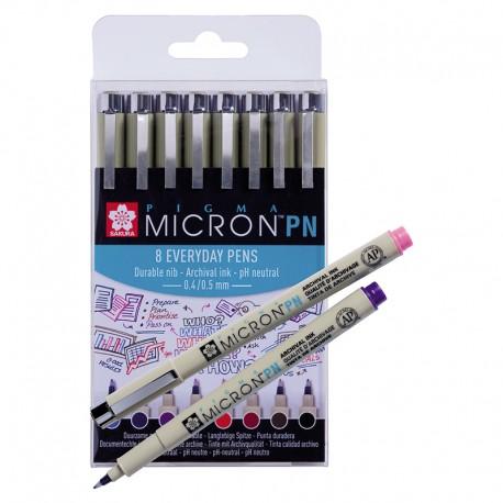 Pigma mikron PN set 8