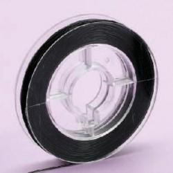 Laks, črna, 0,5mm x 20m