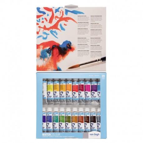 Van Gogh akvarel tuba set 24 kartonska embalaža.