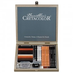 Cretacolor Sketching Passion lesena embalaža 25 kosov