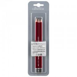 Cretacolor Cleos grafitni svinčniki HB + 2B + 4B