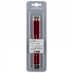 Cretacolor Cleos grafitni svinčniki 3B + 6B + 9B
