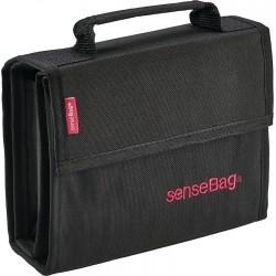 SenseBag platnena torbica za Copic markerje Črna set 36