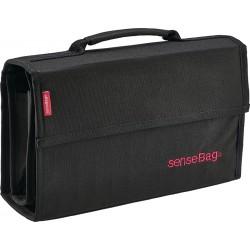 SenseBag platnena torbica za Copic markerje Črna set 72