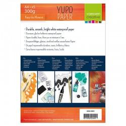 Vaessen Yupo papir A4 300g. 5 kosov