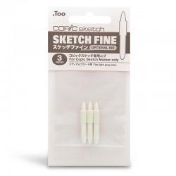 Copic Sketch nadomestne konice Fine 3 kosi