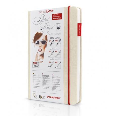 SenseBook skicirka za markerje A5, 100l. 144g.