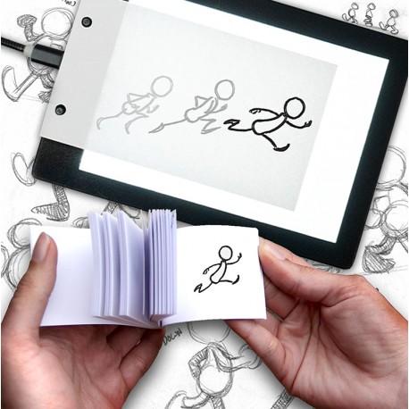 Osnove animacijske tehnike – ustvari svojo animacijsko igračo (flipbook- animiranka)