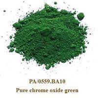 Pigment Pure chrome oxide green 100g.