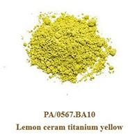 Pigment Lemon cearm titanium yellow 100g.