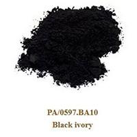 Pigment Black ivory 100g.