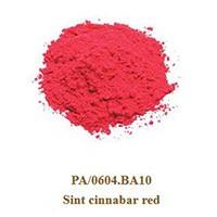 Pigment Sint cinnabar red 100g.