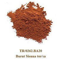 Pigment Burnt Siena tor/sa 100g.