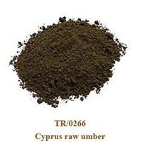 Pigment Cyprus raw umber 100g.